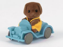 [SF] Hickory Dog Baby with Car (*)