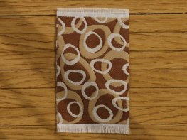 [DB] Modern Rug - Brown Circles [small] (*)