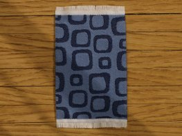 [DB] Modern Rug - Blue Squares [small] (*)