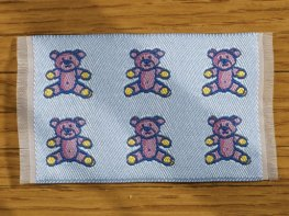 [DB] Baby Mat [small] Blue Teddies