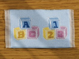 [DB] Baby Mat [small] Blue ABC