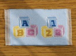[DB] Baby Mat [small] Blue ABC