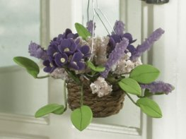 [DB] Hanging Basket - Purple