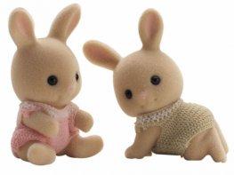 [SF] Periwinkle Milk Rabbit Twins (*)