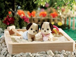 [SF] Beagle Dog Twin Babies (*)