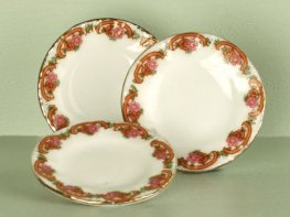 [DB] Ceramic Dinner Plates [set of 3]