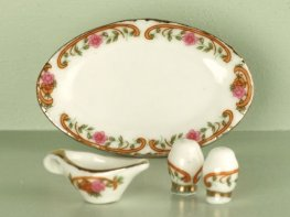 [DB] Ceramic Tableware - Rose