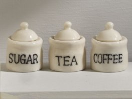 [DB] Ceramic Storage Jars [set of 3]