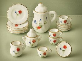 [DB] Ceramic Coffee Set - Rose