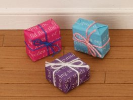 [DB] Wrapped Presents [set of 3]