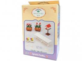 [SF] Garden Bench & Planter Set (*)