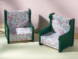 [SF] Vintage Armchairs Set (*)