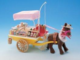 [SF] Pony & Ice Cream Cart (*)