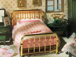 [SF] Brass Bed (*)