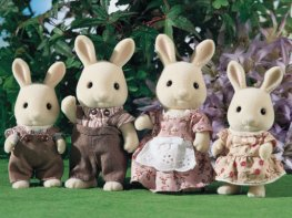 [SF] Periwinkle Rabbit Family [Epoch]