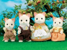 [SF] Keats Cream Cat Family