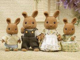 [SF] Dappledawn Fawn Rabbit Family