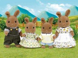 [SF] Dappledawn Fawn Rabbit Family [Epoch] (*)