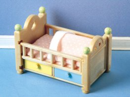 [SF] Baby Cot with Drawers (*)