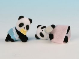 [SF] Bamboo Panda Twins (*)