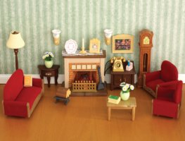 sylvanian families living room buy luxury living room sylvanian families 17108