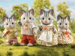 [SF] Harvey Grey Cat Family (*)
