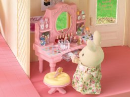 [SF] Pink Dressing Table (*)