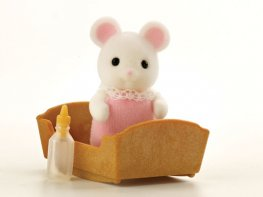 [SF] Hawthorn White Mouse Baby Girl