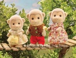 Buy Darwin Monkey Family 3 Online Sylvanian Families