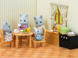 [SF] Country Kitchen Set with Figure (*)