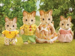 [SF] Sandy Striped Cat Family