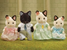 [SF] Marlowe Tuxedo Cat Family