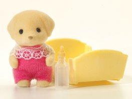 [SF] Fenton Yellow Labrador Baby