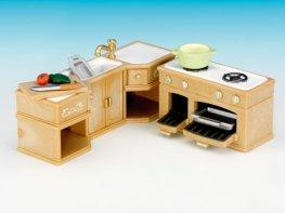 [SF] Kitchen Counter & Stove Set