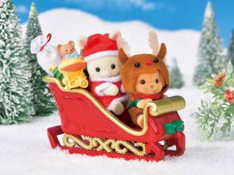 [SF] Baby Sleigh Ride Set