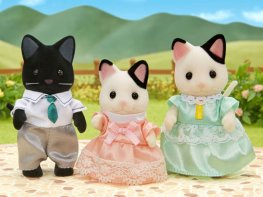 [SF] Marlowe Tuxedo Cat Family [3] (*)
