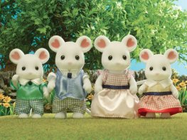 [SF] Marshmallow Mouse Family
