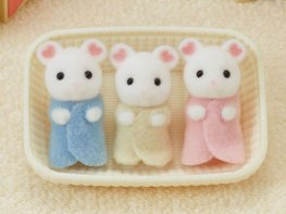 [SF] Marshmallow Mouse Triplets