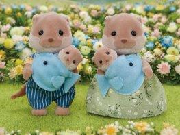 [SF] Splashy Otter Family