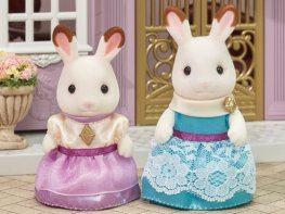 [SF] Dress Up Set [Lavender & Aqua]