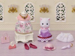 [SF] Fashion Playset - Town Girl Persian Cat