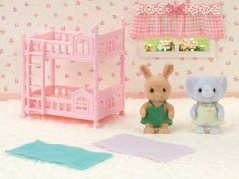 [SF] Sunny Rabbit Baby's Bunk Bed Set