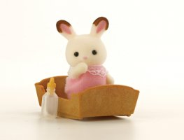 [SF] Chocolate Rabbit Baby [pink] (*)