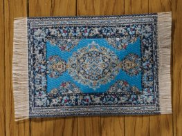 [DB] Turkish Rug [small] Light Blue