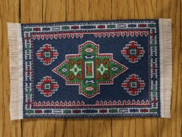 [DB] Turkish Rug [small] Dark Blue