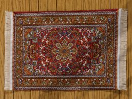 [DB] Turkish Rug [large] Warm Red