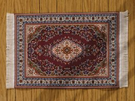 [DB] Turkish Rug [large] Dark Red