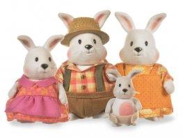 [LW] Hoppingood White Rabbit Family