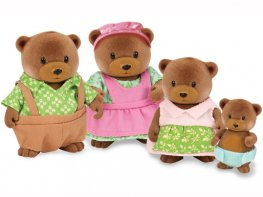[LW] Healthnuggle Brown Bear Family