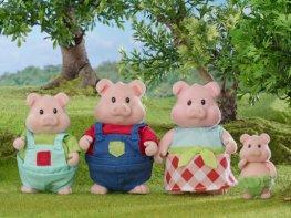 [LW] Curlicue Pig Family